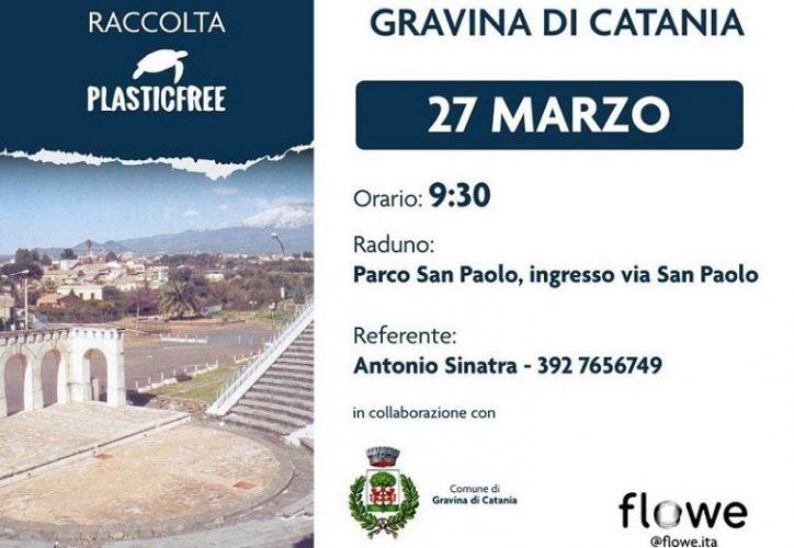 Plastic free a Gravina di Catania