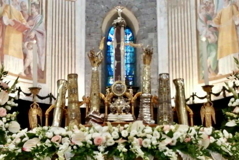 Sant'Agata ai tempi di un'estate Covid: le immagini più belle delle reliquie